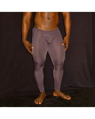 calza larga bulge microfibra hombre cafe