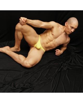 venta en linea en chile de tangas bulge amarillavista de frente