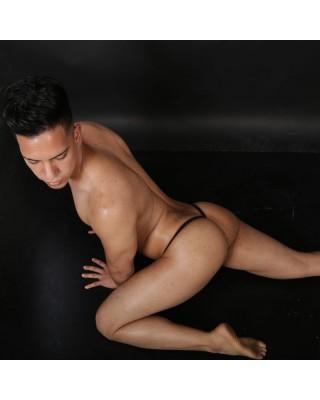 tanga halloween vista de espalda