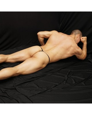translucent thong for men front view