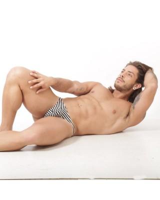 Thong narrow stripes