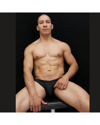 Bikini black mesh
