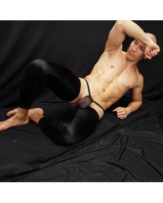piernera satin, cubre solo los muslos, permite libertad de movimiento, vista acostado