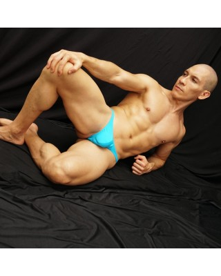 Strong Turquoise Thong for the man who dont afraid comments
