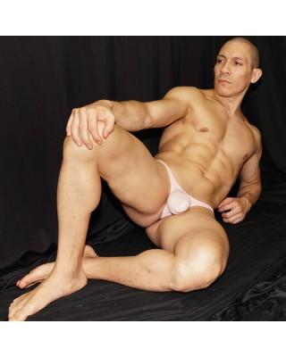 men bulge thong skin color, front view