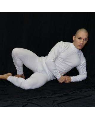 calza larga algodon con elastano, primera capa contra el frio. Se usa bajo tus prendas de vestir