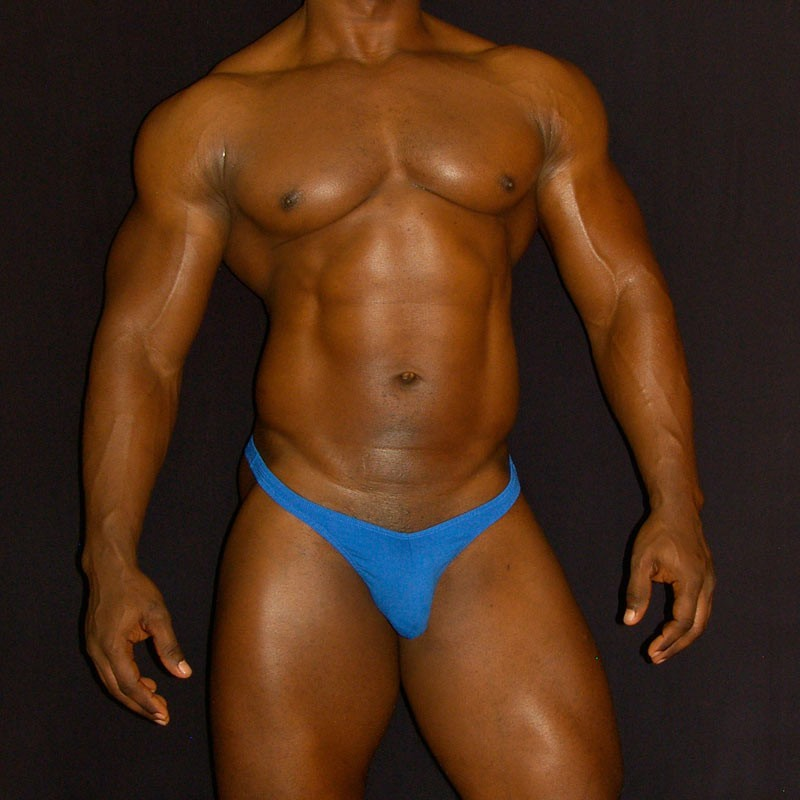 traditional thong for men made in cotton elastane lycra, front view