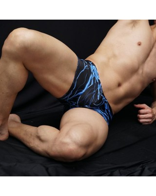 thunderstorm design in this light microfiber in men boxer, front view