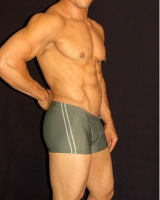 Boxer Baño Verde Olivo