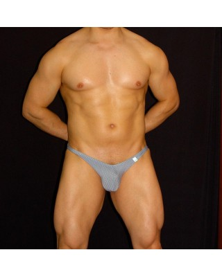 men bikini buttock enhancer grey