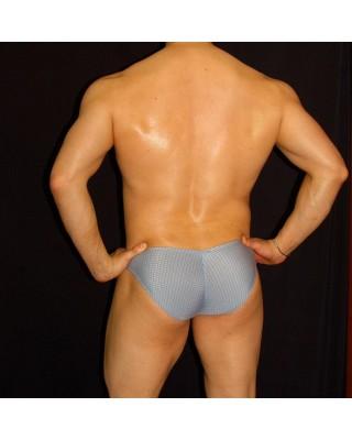 slip bikini hombre cachetero estampado