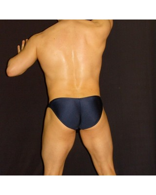 slip bikini cachetero azul