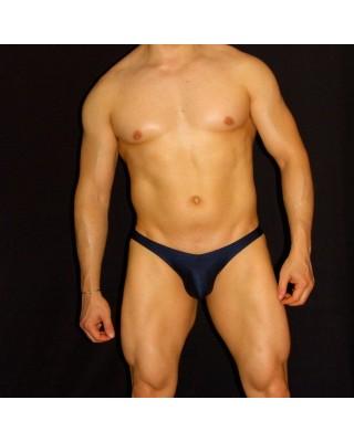 men bikini buttock enhancer navy