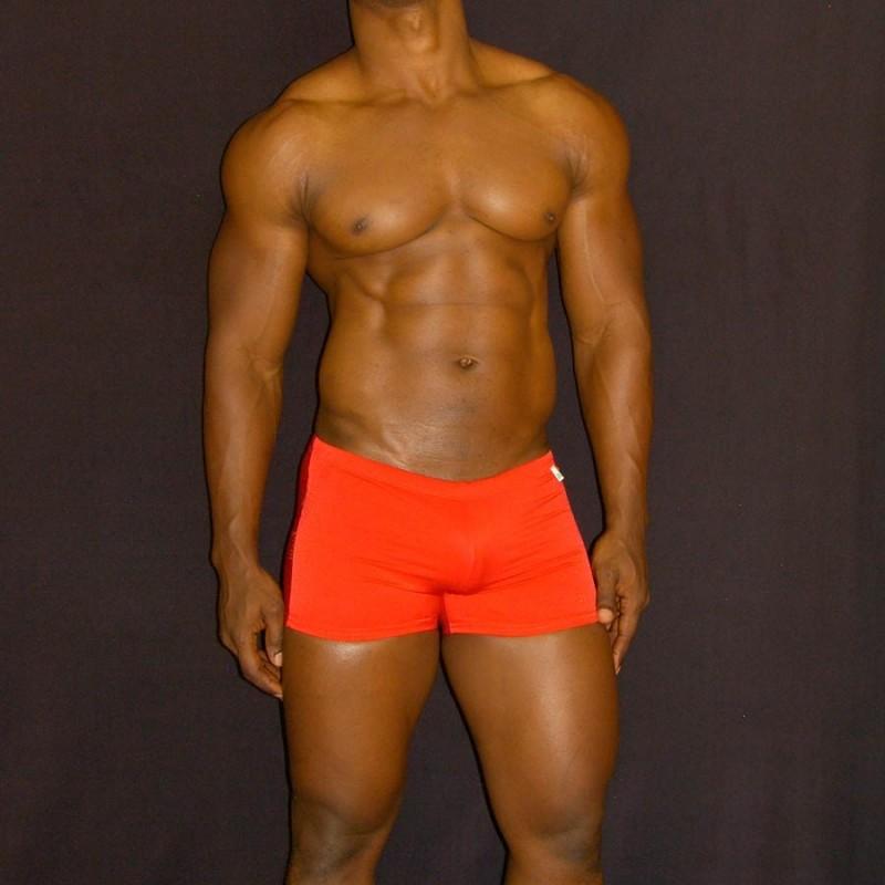 Boxer de Baño rojo