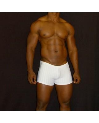 Boxer de baño blanco
