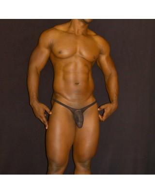 tanga bulge hombre transparencia