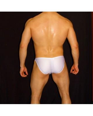 slip bikini cachetero blanco