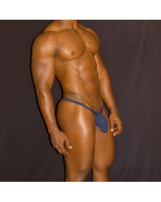 tanga bulge hombre azul marino