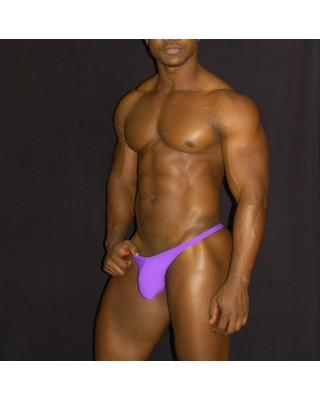 tanga para hombre color purpura