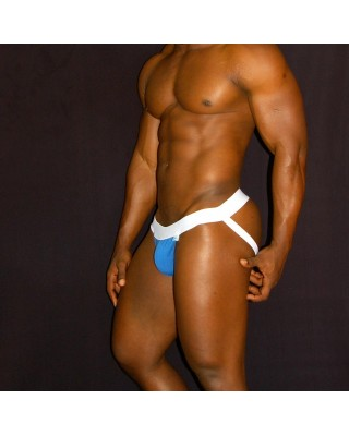 men jockstrap elastane lycra wide band, cotton lycra in the front