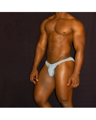 slip bikini brief for male print design