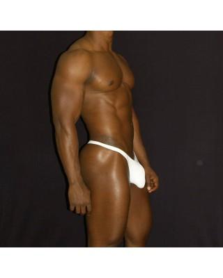 tanga lenceria hombre color blanco