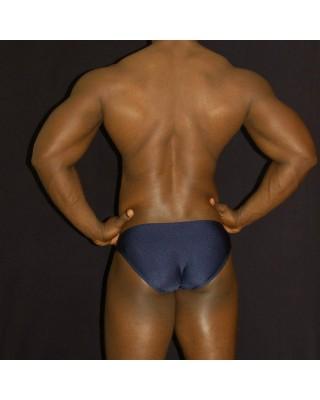 full buttock coverage men lingerie bikini navy