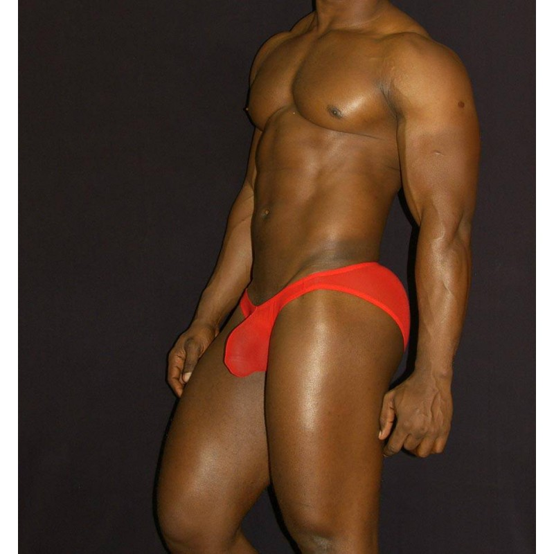 X-cover bikini red seethru