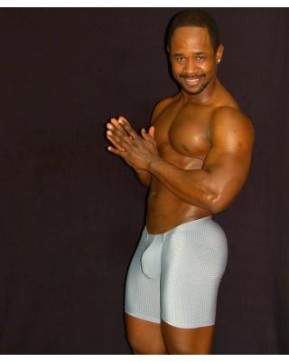 men bulge short tight