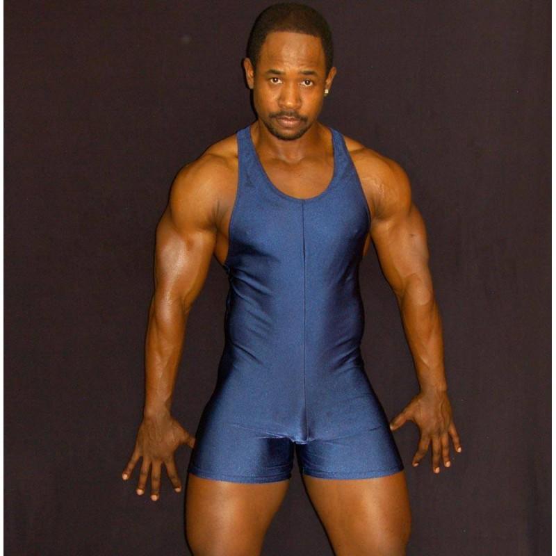 ropa luchador hombre levantamiento de pesas