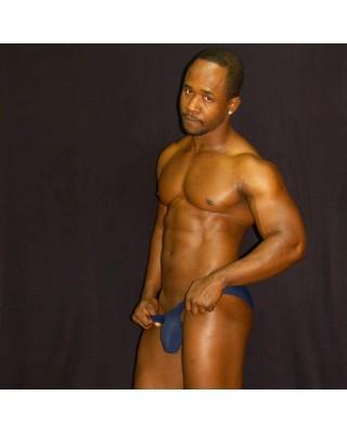 bikini buttock and bulge enhancer navy color