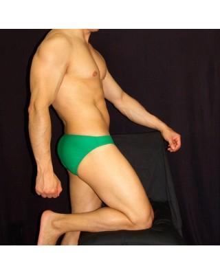 Men swimsuit green color