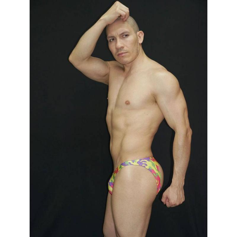 bikini hombre sin trasero con diseño