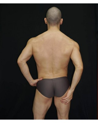 This men boxer has been designed in low raised hips as required by designrs. Microfiber Brown color