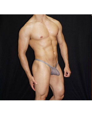 Nylon Men thong transparent and silky