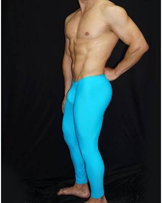mens enhance microfiber pant make big bulge and butt