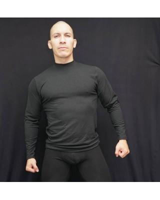 T-shirt long sleeves black...