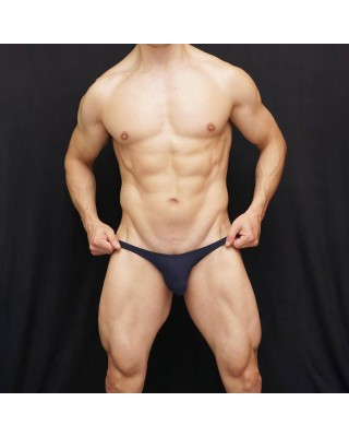 lingerie men dark navy thong