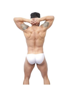 men bikini buttock enhancer white