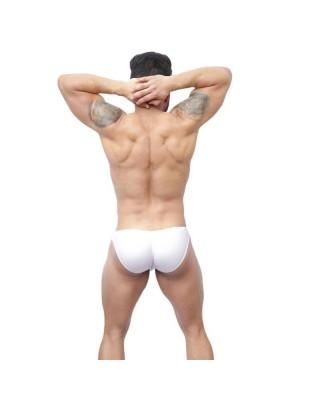 men bikini buttock enhancer white