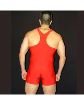 Men Singlets Wrestling Red Color