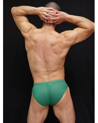 Bikini hombre malla porosa microfibra elastano. Fantasticamente elastico