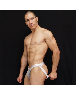 Men Jockstrap Arroyman brand  grey color in the front