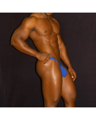 bulge men thong blue color