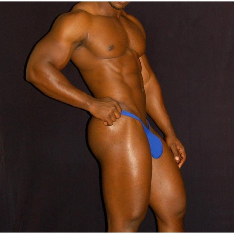 bulge men thong blue color