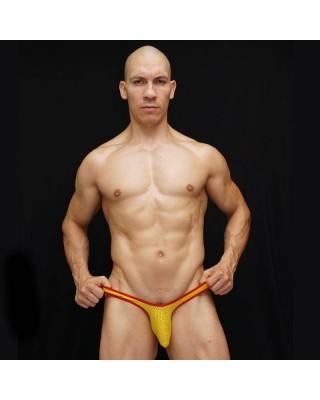 Tanga bulge hombre con los colores de la bandera española