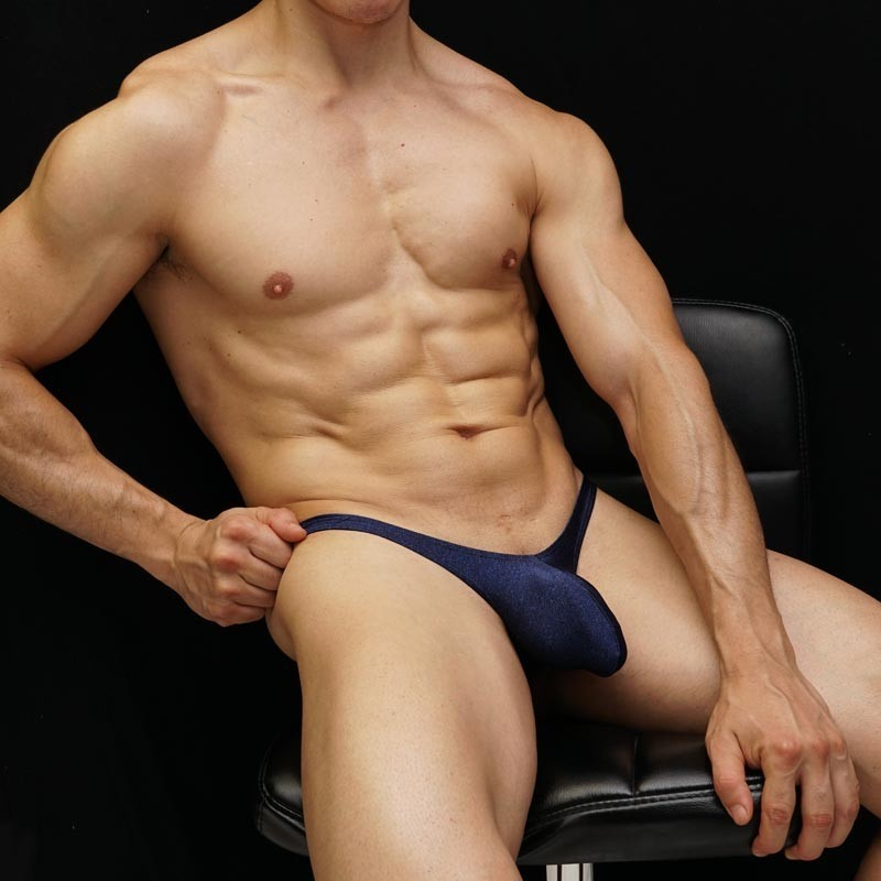 bulge thong for mens made in soft microfiber