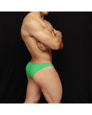 men bodybuilding suit green color