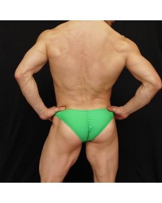 men bodybuilding suit green color