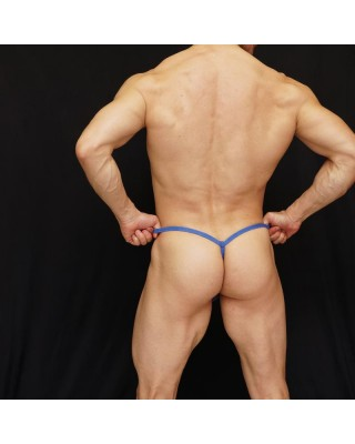 extra transparency mesh thong for men